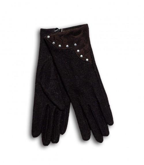 Γάντια με Δαντέλλα και Τρουκ
