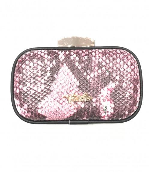 Τσαντάκι VERDE βραδινό φάκελος ροζ