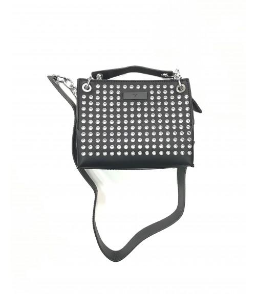 Τσάντα VERDE με Μεταλλικές Λεπτομέρειες Μικρή