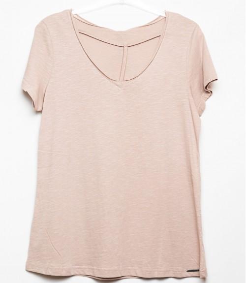 T-shirt με V