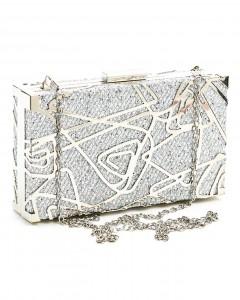 Clutch Box Silver