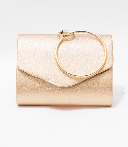 Τσαντάκι Bracelet Rose Gold
