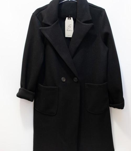 Παλτό Με Πέτο Γιακά και Εξωτερικές Τσέπες