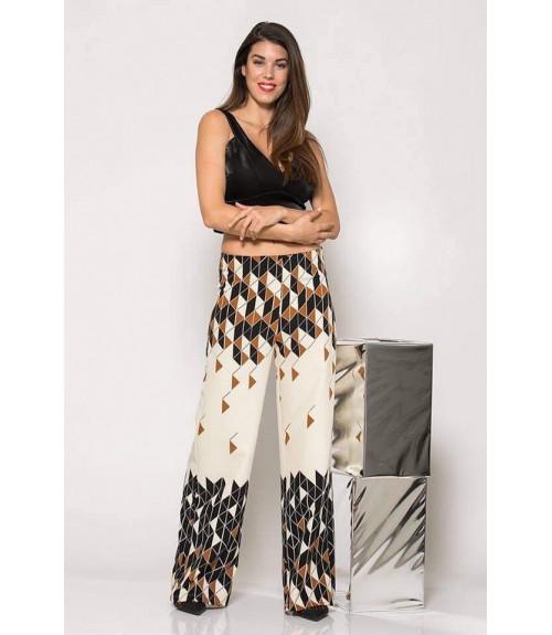 Παντελόνα με Γεωμετρικά Print