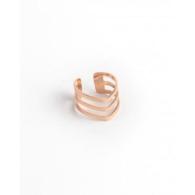 Δαχτυλίδι Ατσάλι Ανοιγόμενο Bow