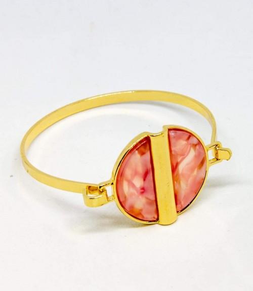 Βραχιόλι Ταρταρούγα Χρυσό Ροζ
