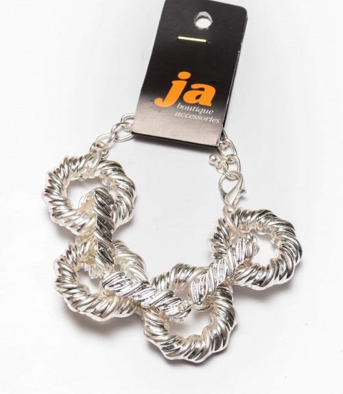 Βραχιόλι Metallic Silver