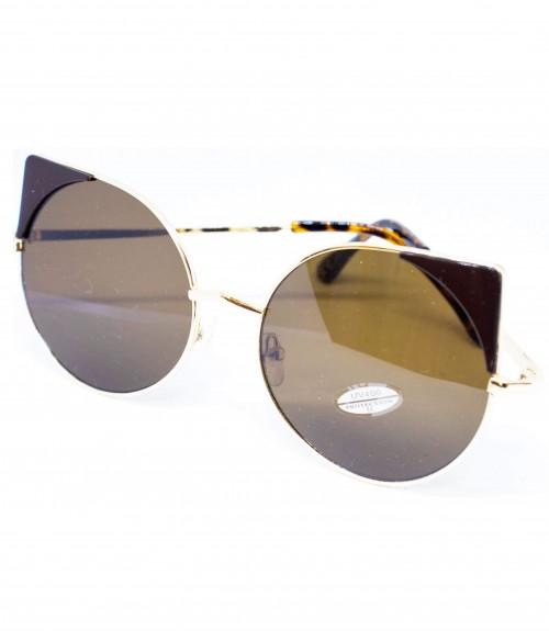 Γυαλιά Στρογγυλά Χρυσά