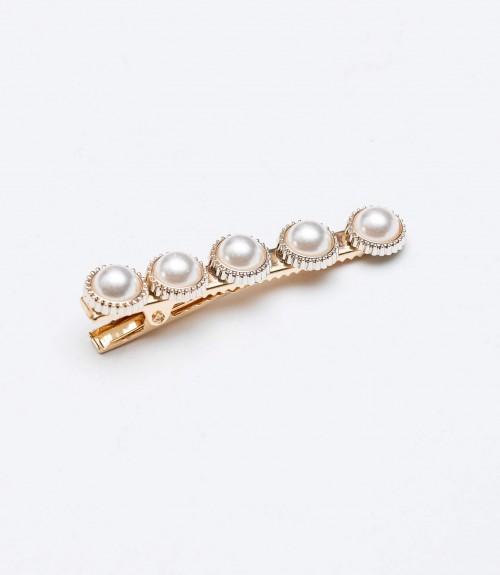Hair Tweezers Pearls
