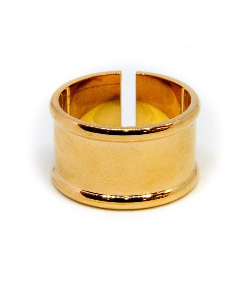 Δαχτυλίδι Ατσάλι Rosegold Ανοιγόμενο