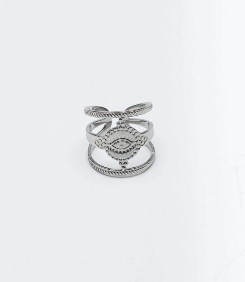 Δαχτυλίδι Ατσάλι Eyes