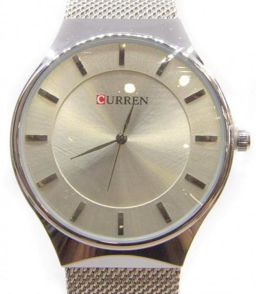 Ρολόι Curren Ασημί Unisex Μεταλλικό